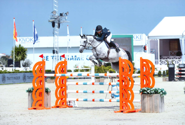 Chupalina 2nd place in 1m35 at Peelbergen (NED)